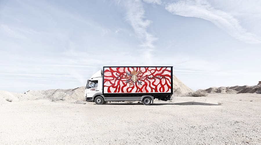 Marina Vargas Truck Art Project-Truck Art Project-Marina Vargas