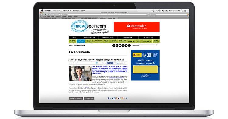 Jaime Colsa en InnovaSpain