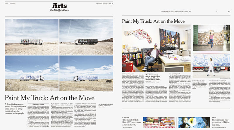 THE NEW YORK TIMES Truck Art Project-arte español-truck art project