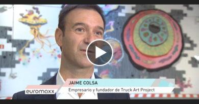 cadena alemana-Jaime Colsa-Deutsche Welle-Arte en movimiento-