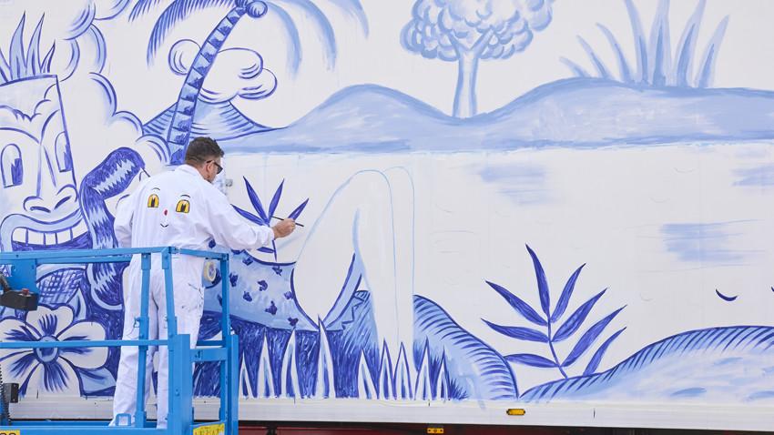 palibex-truck art project-yorokobu-arte en movimiento-sergio mora