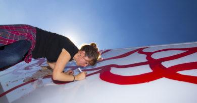 On the 50 Road, Truck Art Project, Palibex, Marina Vargas