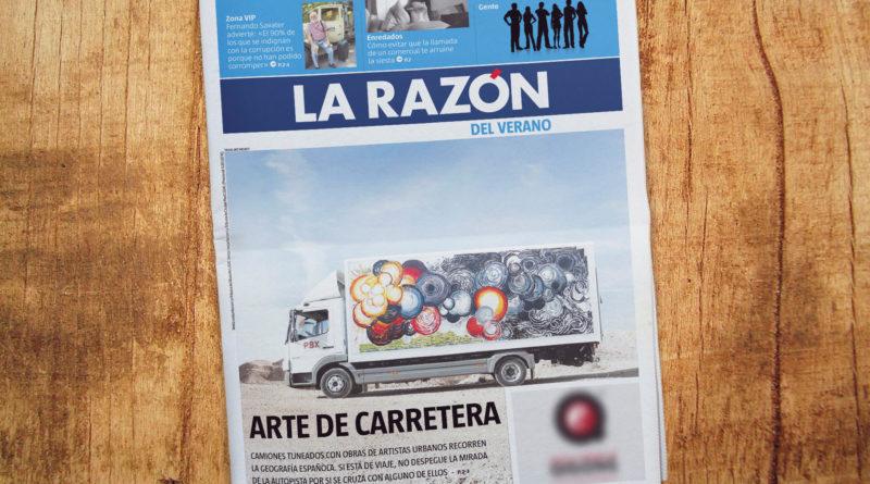 La Razón-La Razón Truck Art Project