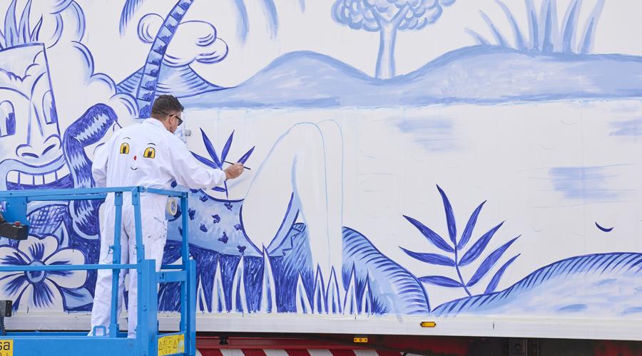 Truck Art Project-Arte Urbano-Truck Art Project El País