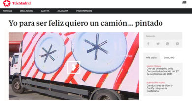 truck art project-telemadrid