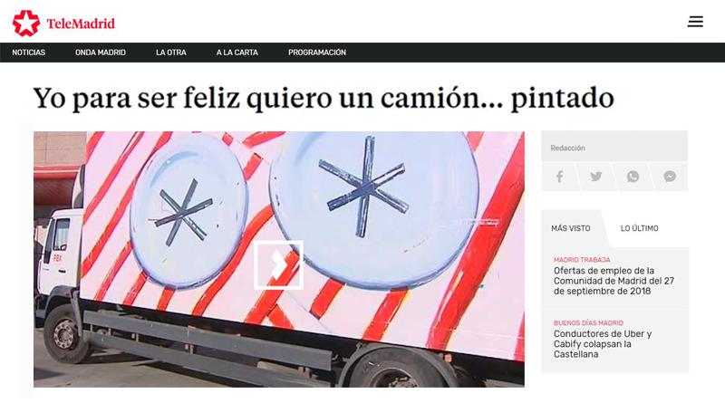 truck art project-telemadrid