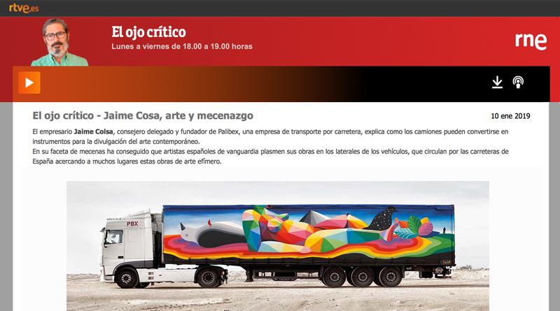 El Ojo Crítico-RNE-Palibex-Truck Art Project-Okuda