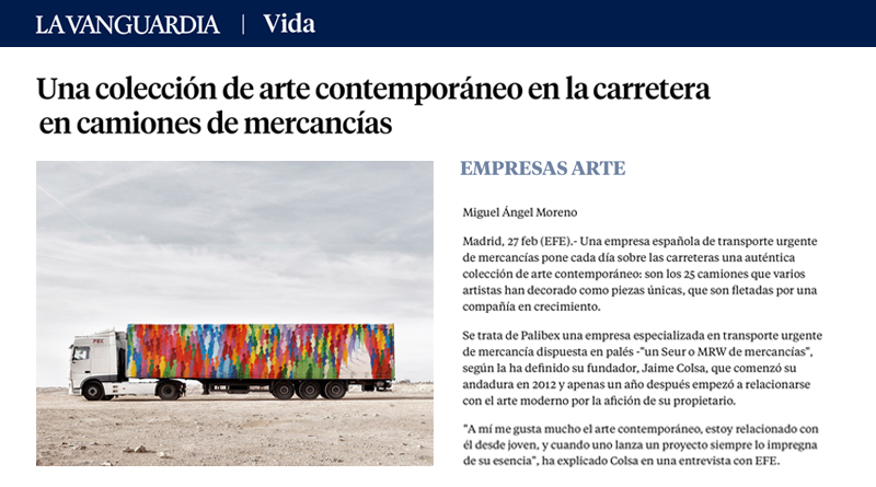 Truck Art Project La Vanguardia-Truck Art Project-Palibex
