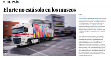 Arte en movimiento-truck art project-el pais