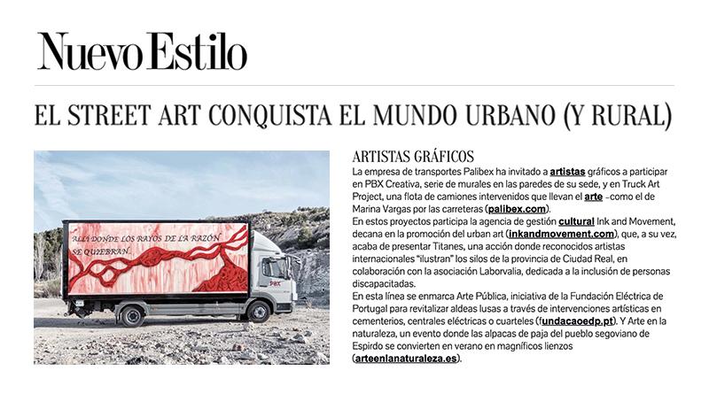 Truck Art Project - Nuevo Estilo Truck Art Project - Marina Vargas