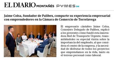 Jaime Colsa - Un café con la Cámara - Cámara de Comercio de Torrelavega