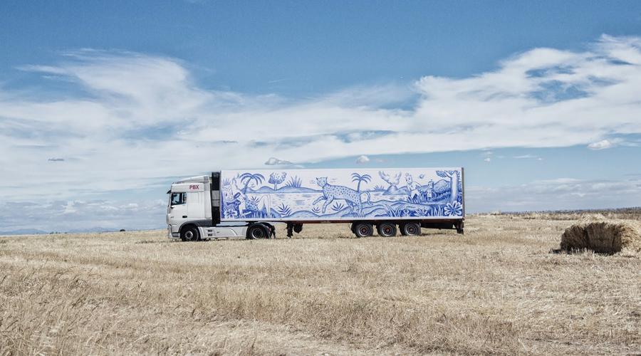 jaime colsa - arteinformado - mecenas del arte - truck art project - sergio mora