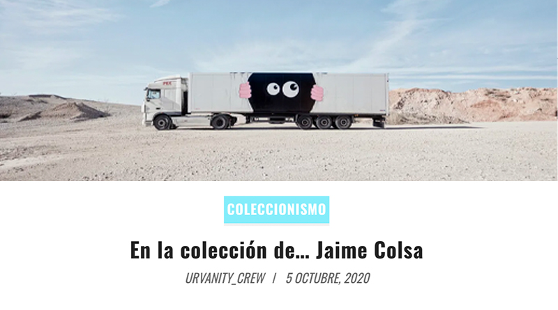 urvanity - jaime colsa - truck art project - javi calleja