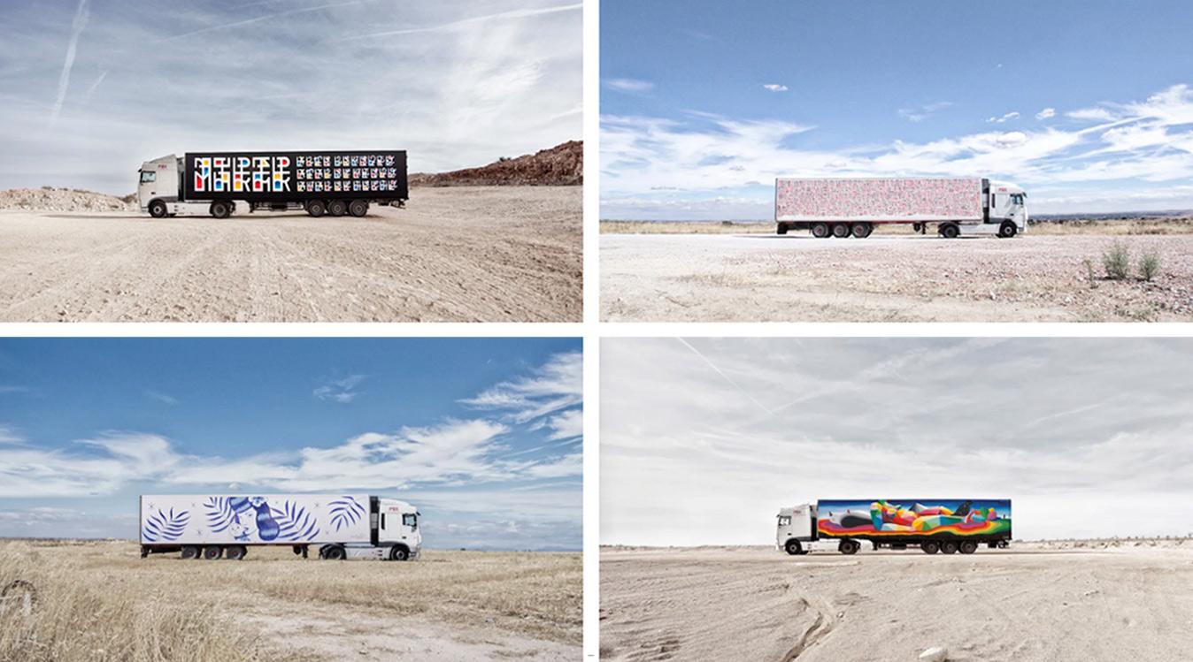 urvanity - jaime colsa - truck art project